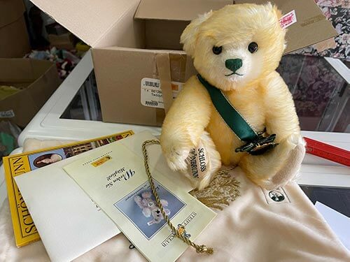 Steiff Teddy verkaufen bei Savebu